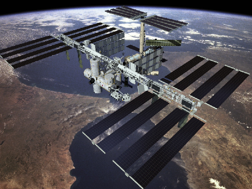 international space station pictures. space station